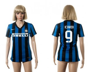 Camiseta nueva Inter Milan Mujer 9 2015/2016