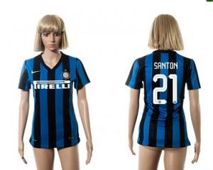 Camiseta nueva del Inter Milan 2015/2016 21 Mujer