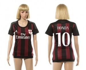 Mujer Camiseta del 10 AC Milan 2015/2016
