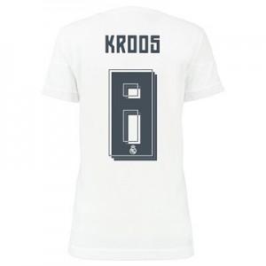 Camiseta nueva del Real Madrid 2015/2016 Equipacion KROOS Mujer Primera