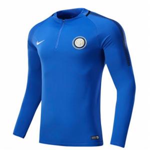 Camiseta nueva del Inter Milan 2017/2018 Mangas largas