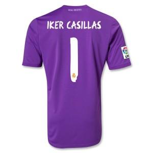 Camiseta Portero nueva del Real Madrid 2013/2014 Iker Casillas Primera