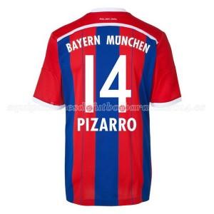 Camiseta de Bayern Munich 2014/2015 Primera Pizarro Equipacion