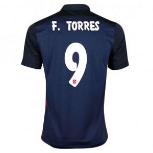 Camiseta nueva Atletico Madrid FERNANDO TORRES Equipacion Segunda 2015