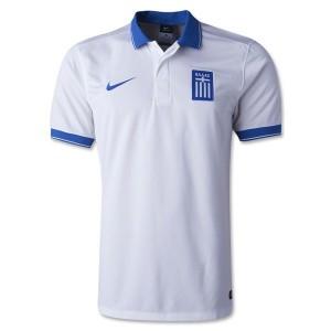 Camiseta nueva del Grecia de la Seleccion 2014 Primera