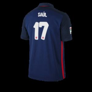 Camiseta del SAUL Atletico Madrid Segunda Equipacion 2015/2016