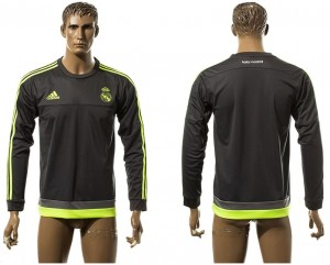 Training Top Real Madrid gray Europe Long Sleeve