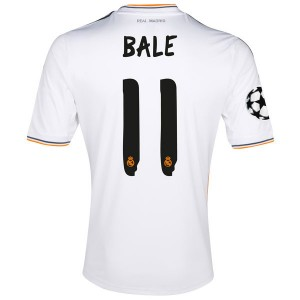 Camiseta del Bale Real Madrid Primera 2013/2014