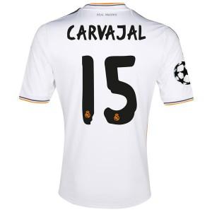 Camiseta del Carvajal Real Madrid Primera Equipacion 2013/2014