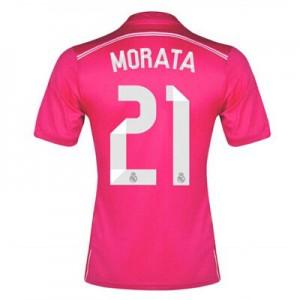 Camiseta de Real Madrid 2014/2015 Segunda Morata Equipacion