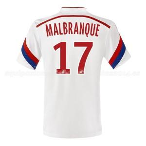 Camiseta del Malbranque Lyon Primera 2014/2015