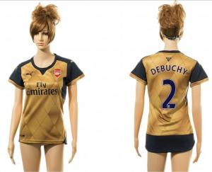 Camiseta nueva del Arsenal 2# Away