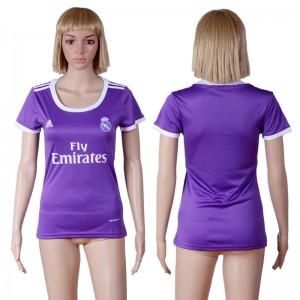 Camiseta Real Madrid Segunda Equipacion 2016/2017 Mujer