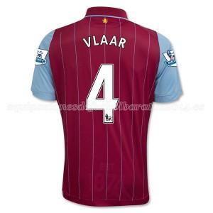 Camiseta Aston Villa Vlaar Primera Equipacion 2014/15