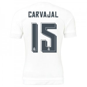Camiseta de Real Madrid 2015/2016 Primera Numero 15 CARV Equipacion