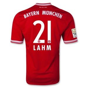 Camiseta Bayern Munich Lahm Primera Equipacion 2013/2014