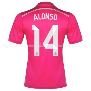 Camiseta nueva del Real Madrid 2014/2015 Equipacion Alonso Segunda