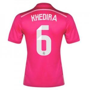 Camiseta del Khedira Real Madrid Segunda Equipacion 2014/2015