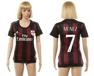 Camiseta AC Milan 7 2015/2016 Mujer