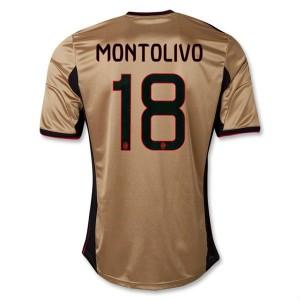 Camiseta del Montolivo AC Milan Tercera Equipacion 2013/2014