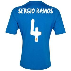 Camiseta de Real Madrid 2013/2014 Segunda Sergio Ramos