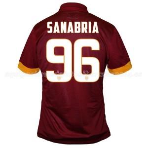Camiseta de AS Roma 2014/2015 Primera Sanabria Equipacion