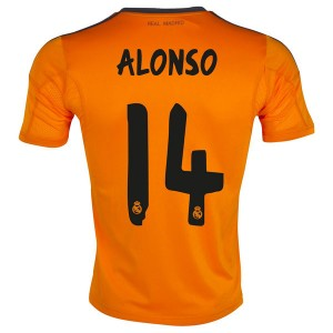Camiseta del Alonso Real Madrid Tercera Equipacion 2013/2014