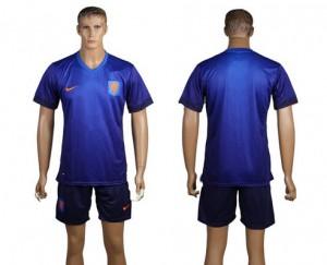 Camiseta de Holanda de la Seleccion WC2014 Segunda