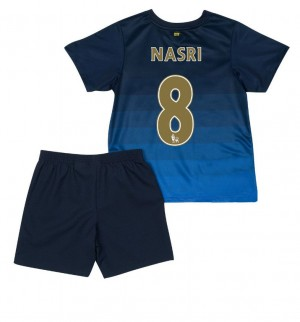 Camiseta de Real Madrid 2013/2014 Segunda F.Coentrao