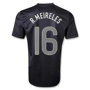 Camiseta Portugal de la Seleccion R Meireles Segunda 2013/2014