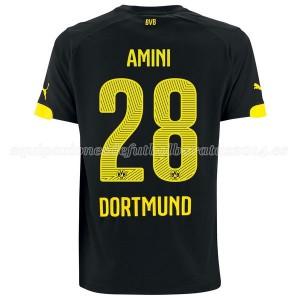 Camiseta Borussia Dortmund Amini Segunda 14/15