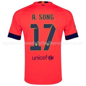 Camiseta nueva Barcelona A.Song Segunda 2014/2015