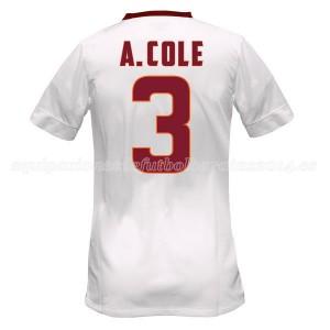 Camiseta nueva del AS Roma 2014/2015 Equipacion A.Cole Segunda