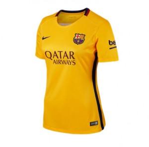 Camiseta Barcelona Segunda Equipacion 2015/2016 Mujer