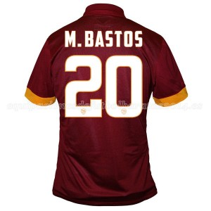 Camiseta nueva AS Roma M.Bastos Equipacion Primera 2014/2015