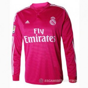 Camiseta Real Madrid ML Segunda Equipacion 2014/2015