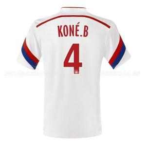Camiseta del Kone Lyon Primera 2014/2015