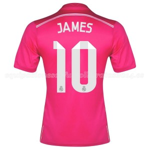 Camiseta nueva del Real Madrid 2014/2015 Equipacion James Segunda