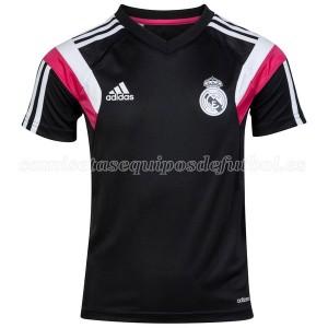 Camiseta de Real Madrid 2014 Entrenamiento Negro
