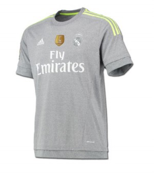 Camiseta Real Madrid Visitante 2015-2016