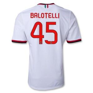 Camiseta nueva AC Milan Balotelli Equipacion Segunda 2013/2014