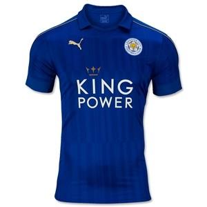 Camiseta de Leicester City 2016/2017 Primera Equipacion