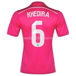Camiseta nueva del Real Madrid 2014/2015 Equipacion Khedira Segunda