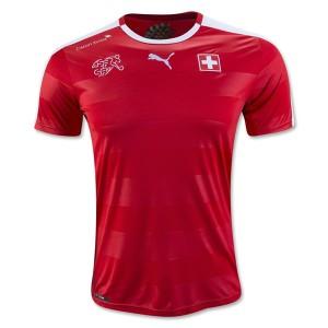 Camiseta Suiza 2016/2017