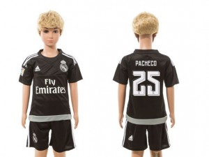 Niños Camiseta del goalkeeper 25 Real Madrid 2015/2016