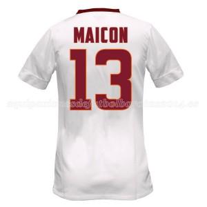 Camiseta nueva del AS Roma 2014/2015 Equipacion Maicon Segunda