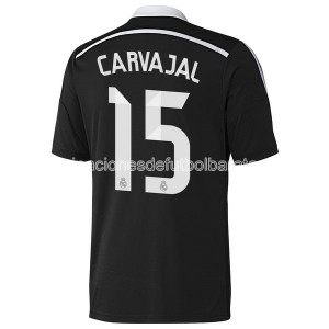 Camiseta del Carvajal Real Madrid Tercera Equipacion 2014/2015