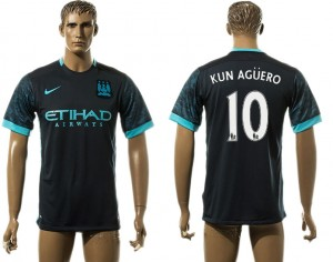 Camiseta de Manchester City Away 10# aaa version