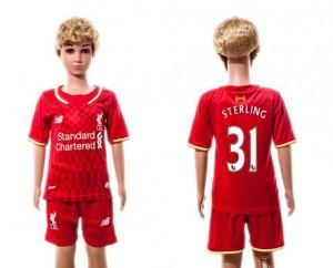 Camiseta nueva del Liverpool 2015/2016 31 Niños