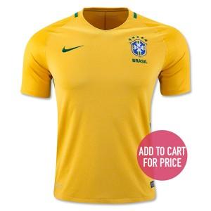 Camiseta del Brasil Home 2016